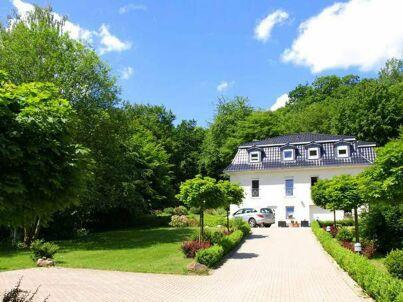 Weisses Haus am Kurpark  - Bergblick