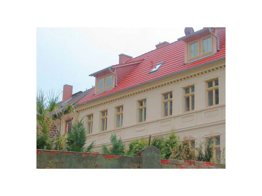 Außenaufnahme Gästehaus Gernrode