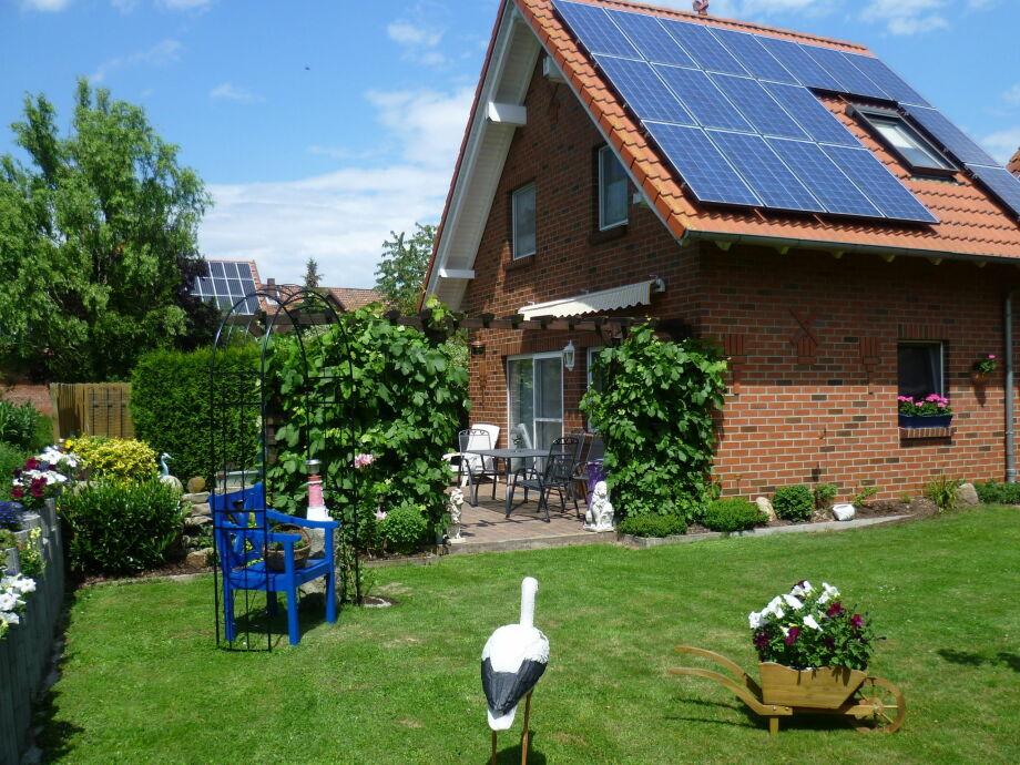 Außenaufnahme Ferienhaus Weserbergland