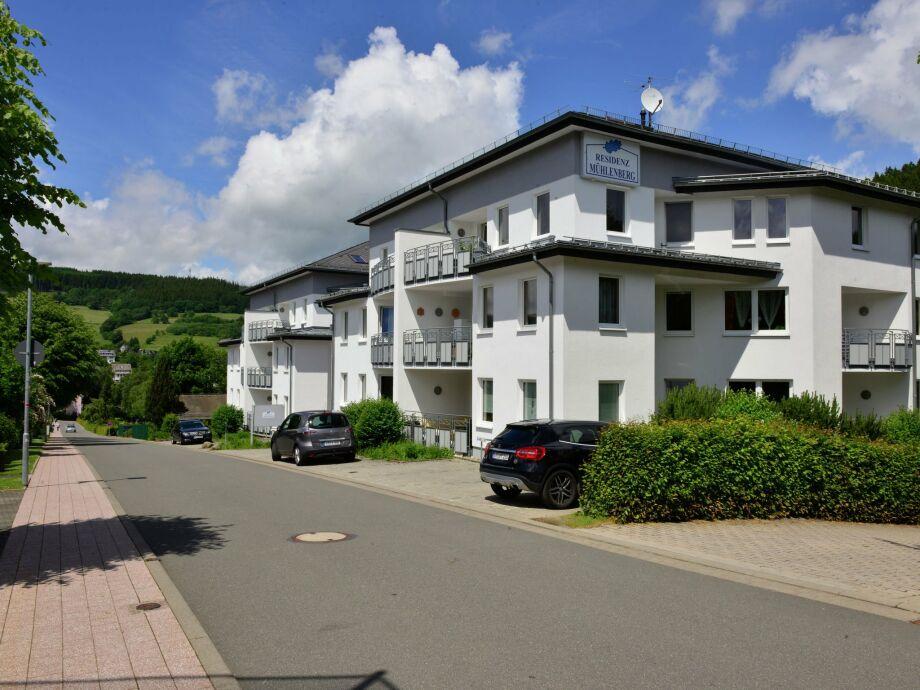 Außenaufnahme Residenz Mühlenberg
