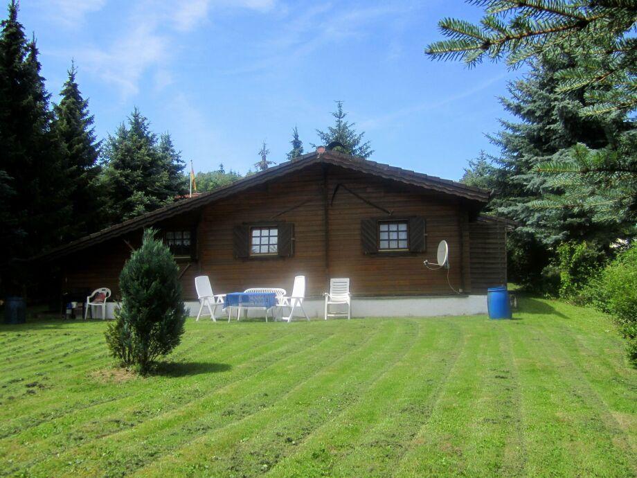 Außenaufnahme Kellerwald Hütte