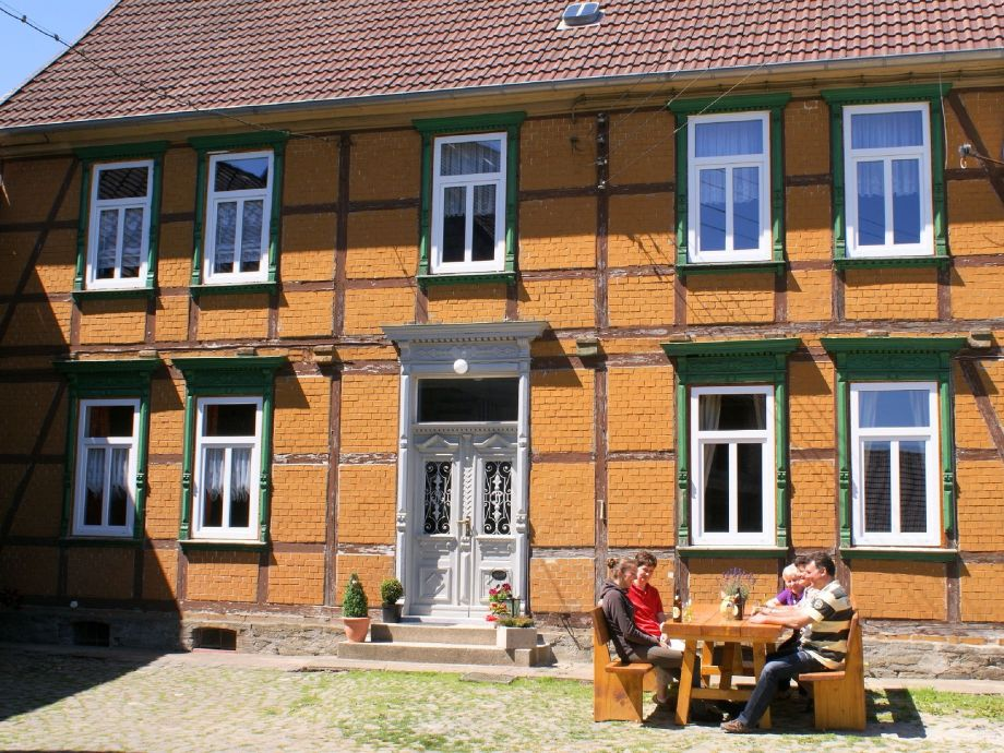 Außenaufnahme Haus Brockenblick