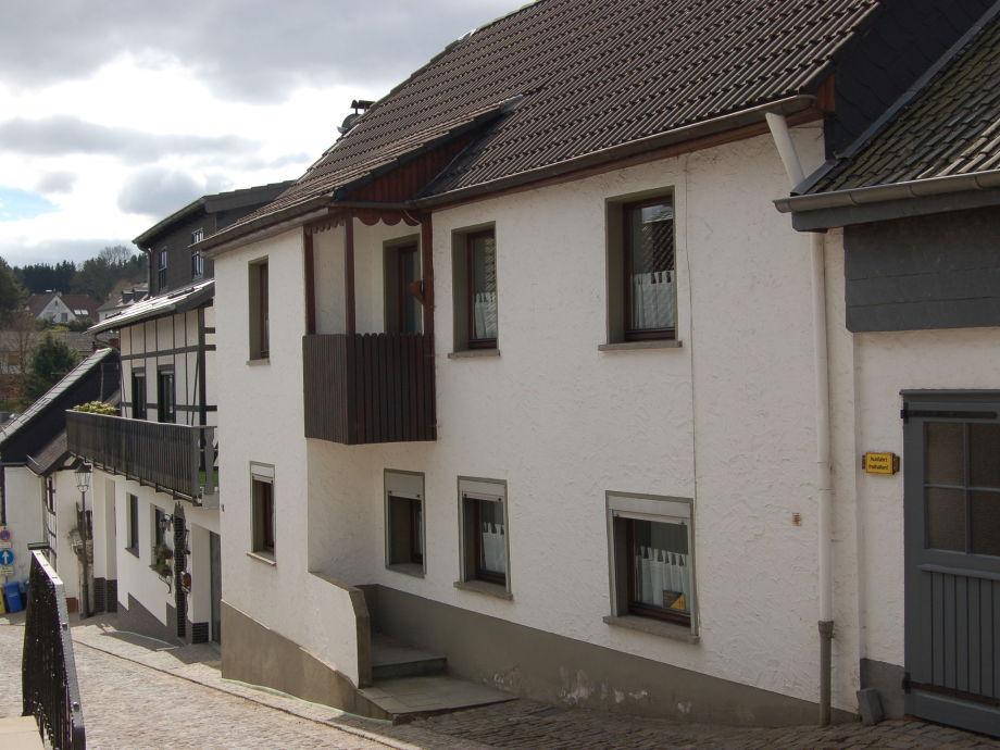 Außenaufnahme Ferienhaus Eifel