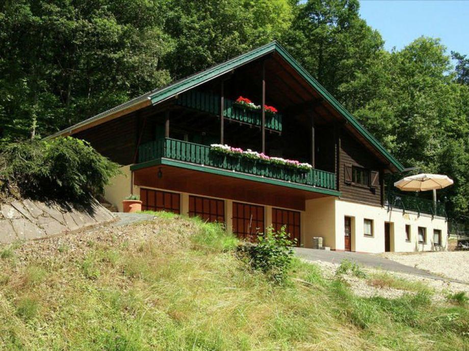 Außenaufnahme Ferienhaus Hersbach