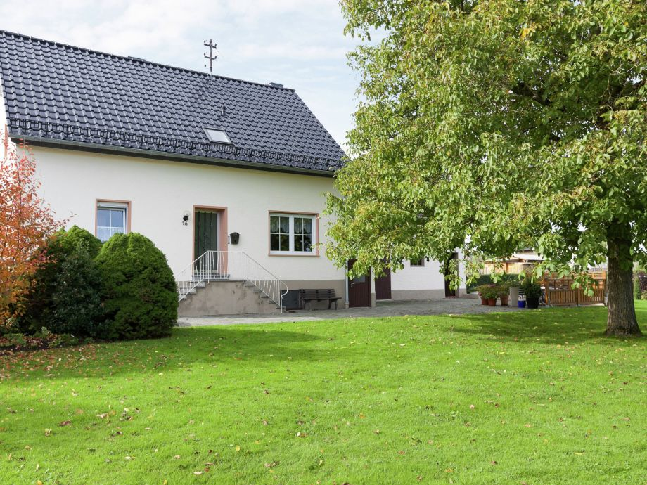 Außenaufnahme Ferienhaus Buchwald