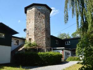 Ferienhaus Schöne Aussicht mit Turm