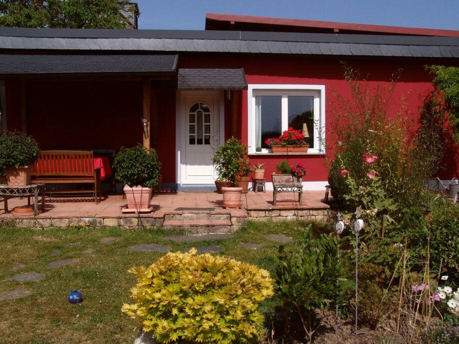 Außenaufnahme Ferienhaus Rot