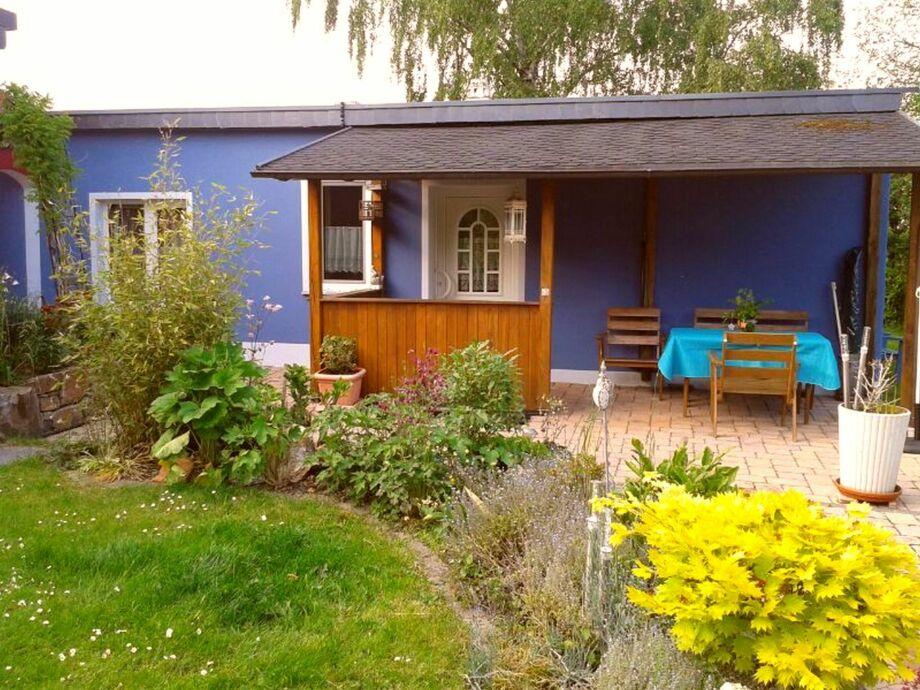 Außenaufnahme Ferienhaus Blau