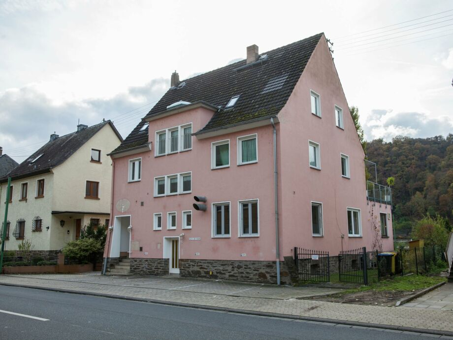 Außenaufnahme Rheinpanorama Haus Loreley