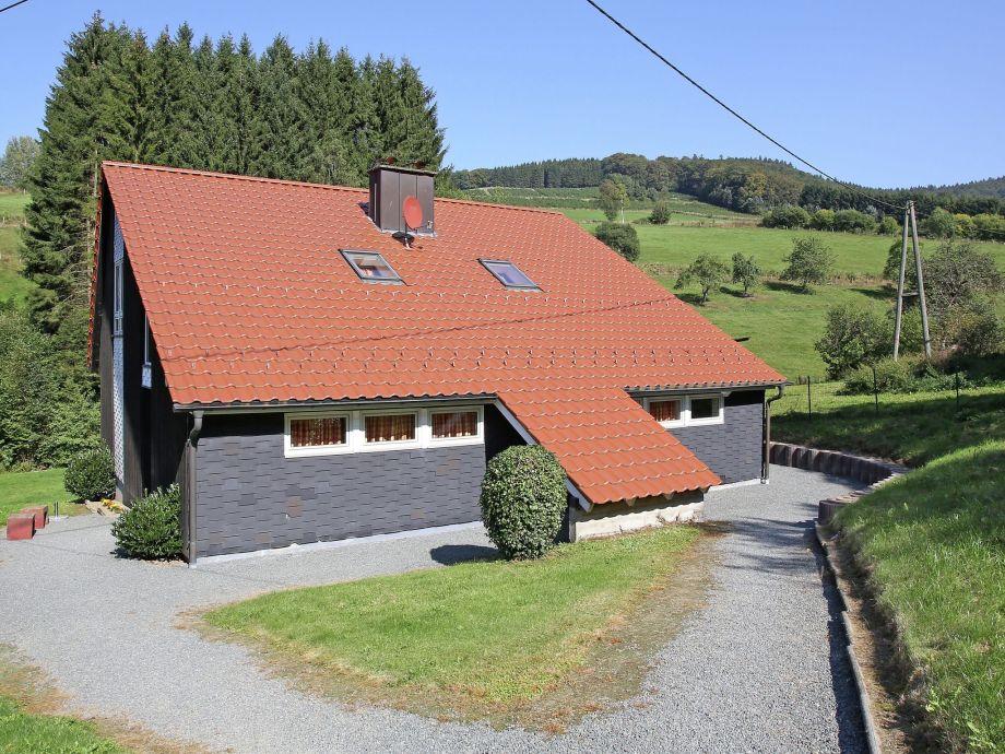 Außenaufnahme Dachsbau