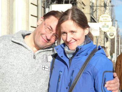 Ihr Gastgeber Anke und Martin Pyschny