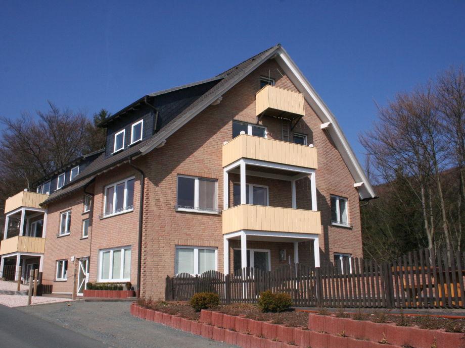 Außenaufnahme Ferienwohnung Düdinghausen