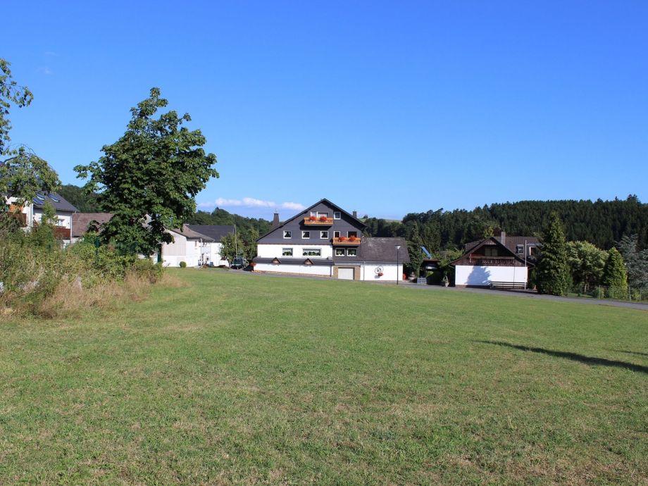 Außenaufnahme Ferienwohnung Liesen im  Sauerland
