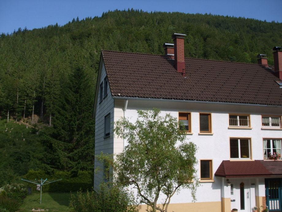 Außenaufnahme Ferienhaus Post