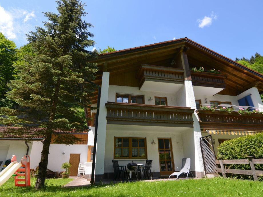 Außenaufnahme Im Berchtesgadener Land