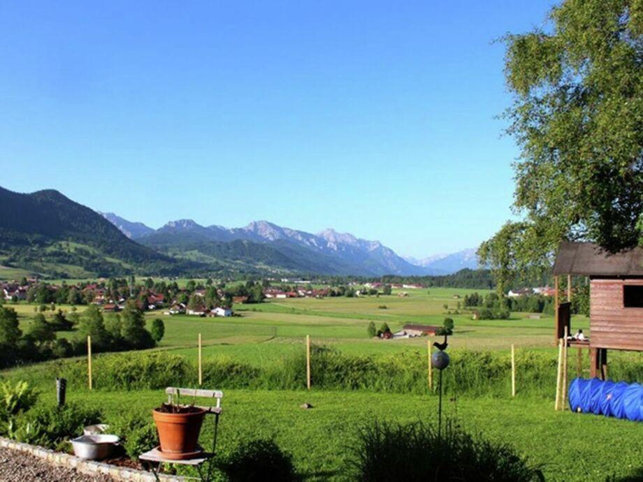 Außenaufnahme Haus Bergblick