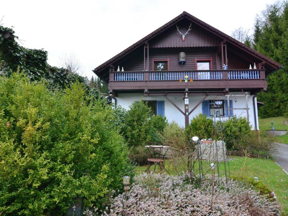 Außenaufnahme Im Bayerischen Wald