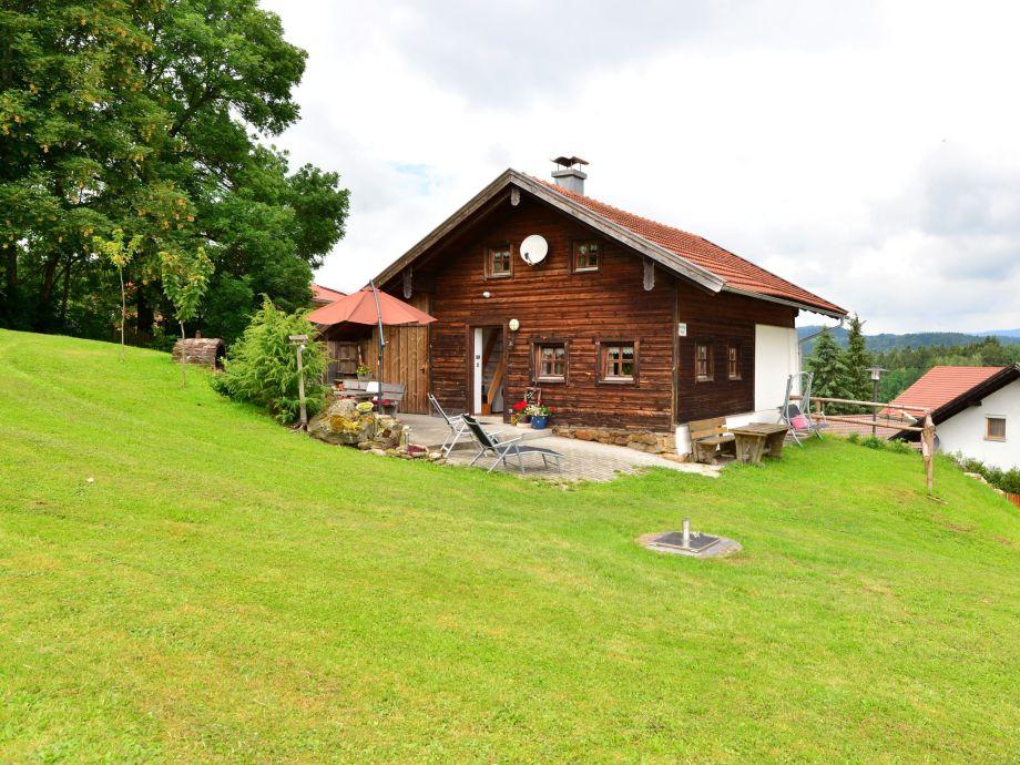 Außenaufnahme Bayerischer Wald