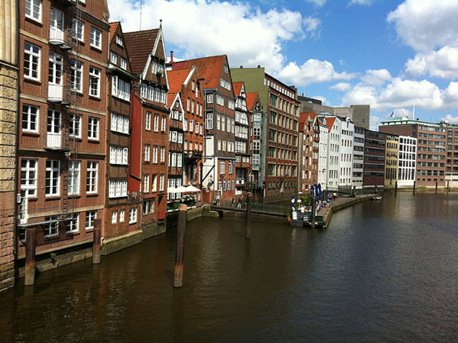 Außenaufnahme historic City Hamburg