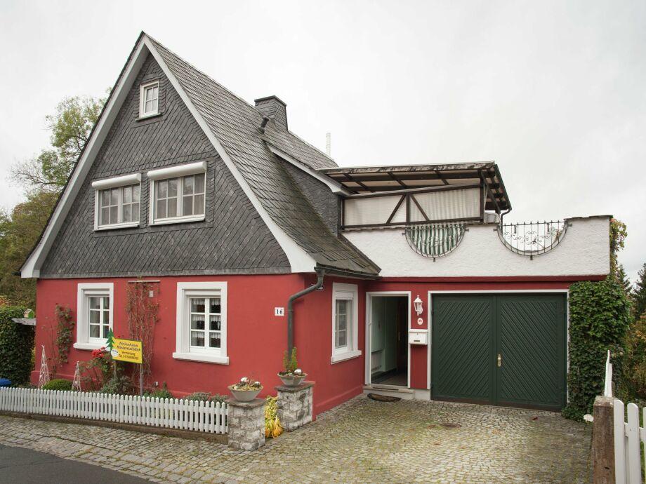 Außenaufnahme Ferienhaus Frankenwald