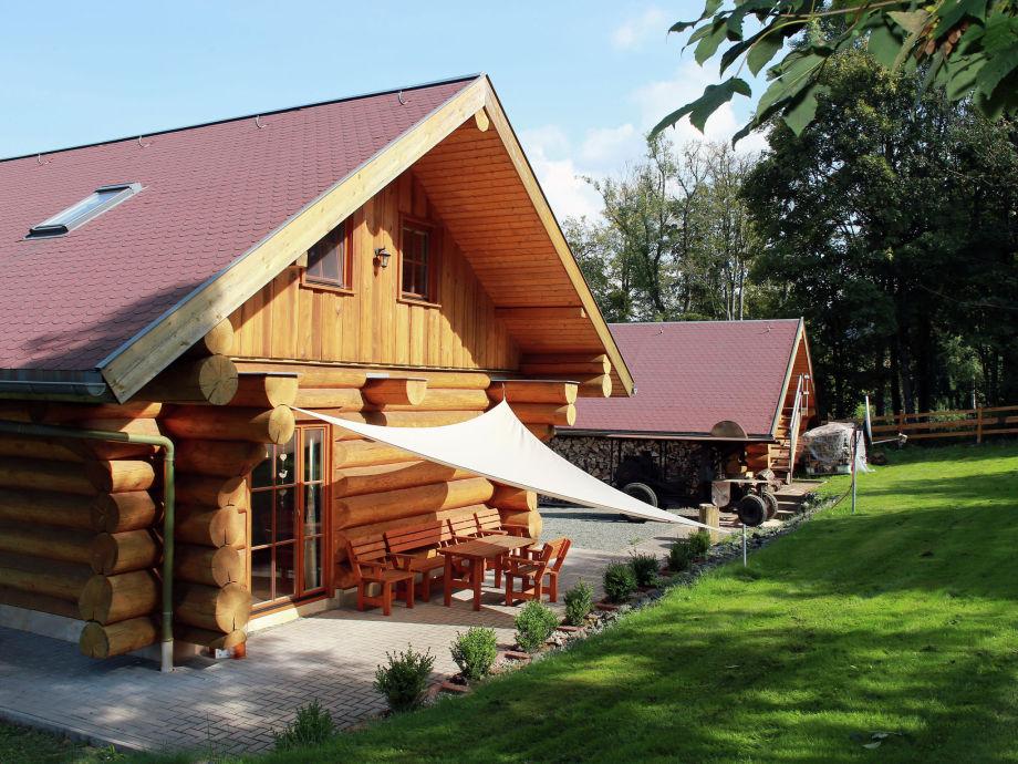 Außenaufnahme Holzhaus Brotterode