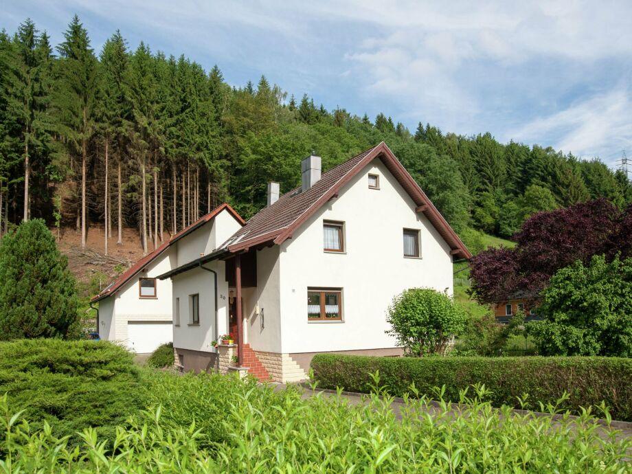 Außenaufnahme Ferienwohnung Thüringer Wald