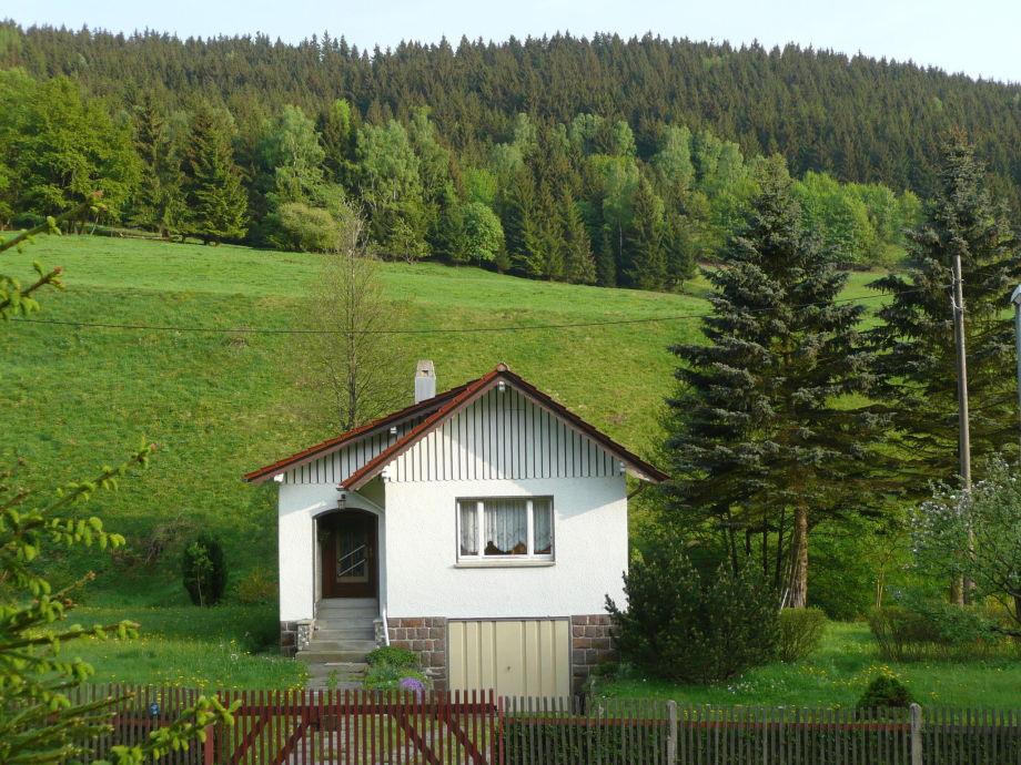 Außenaufnahme Ferienhaus an der Neubrunn