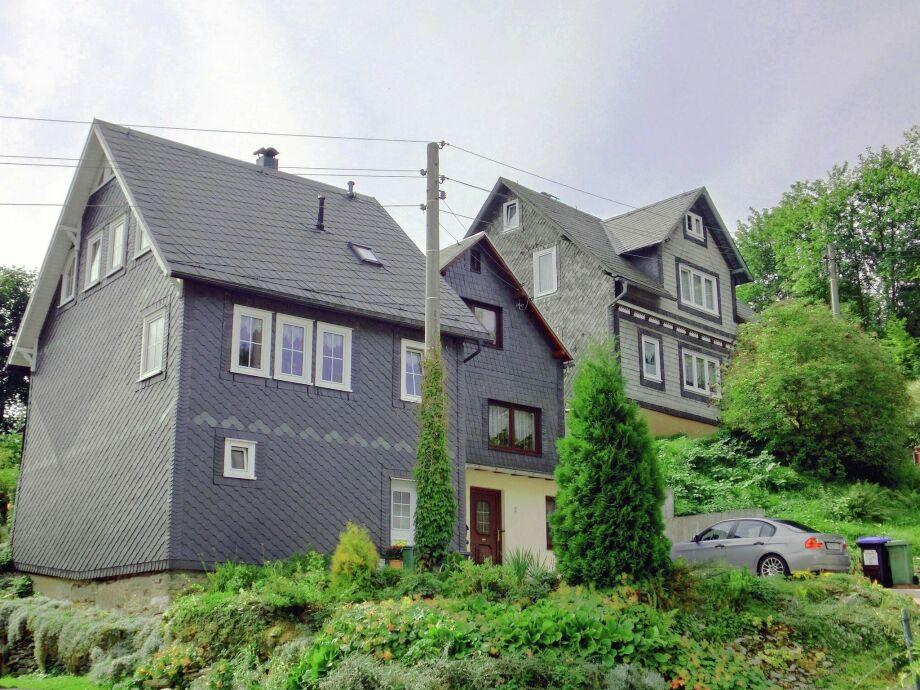 Außenaufnahme Landhaus Fernblick