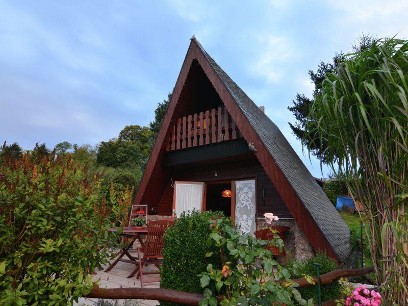 Ferienhaus Finnhütte Bergblick