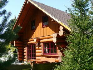 Ferienhaus Naturstammhaus