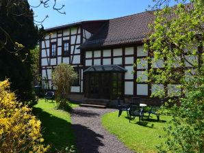 Ferienhaus Fachwerkhaus Thüringen