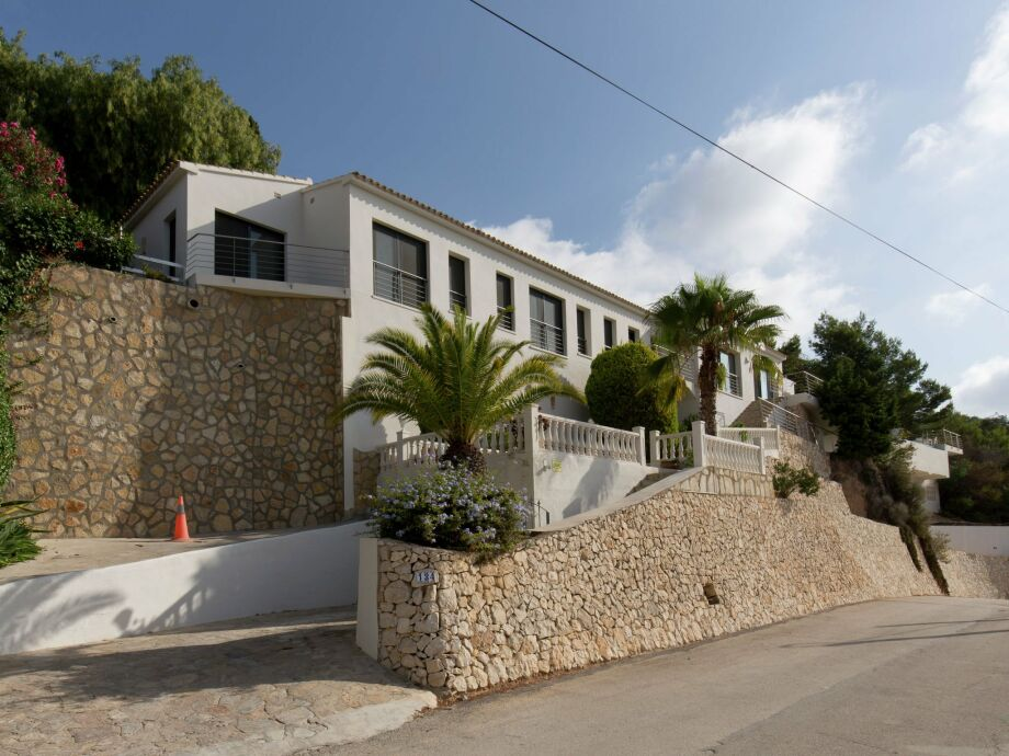 Außenaufnahme Villa Moraira