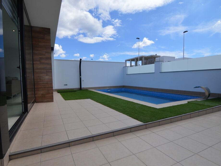 Außenaufnahme Villa Fargas