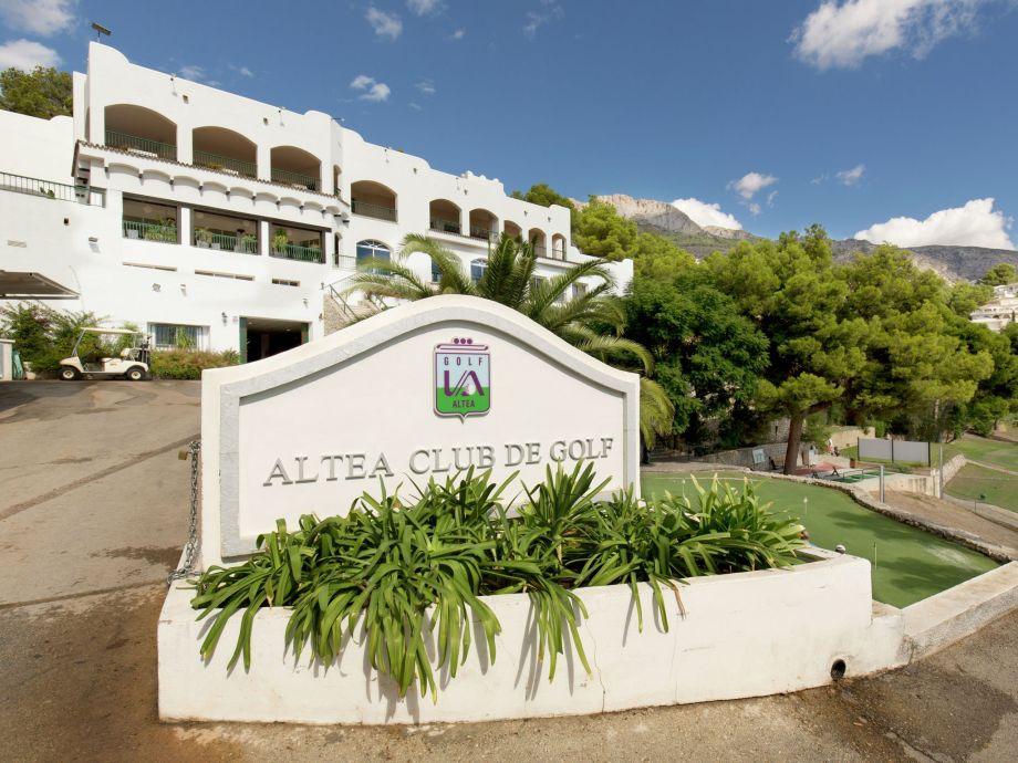 Außenaufnahme Altea la Vieja Altea club de golf