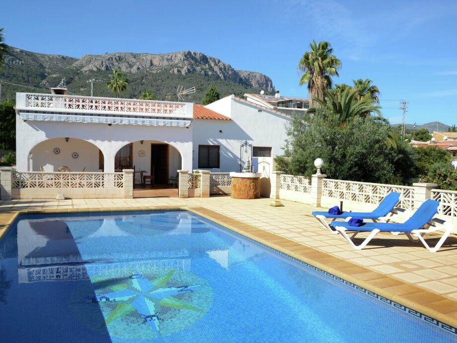 Außenaufnahme Villa Benicolada