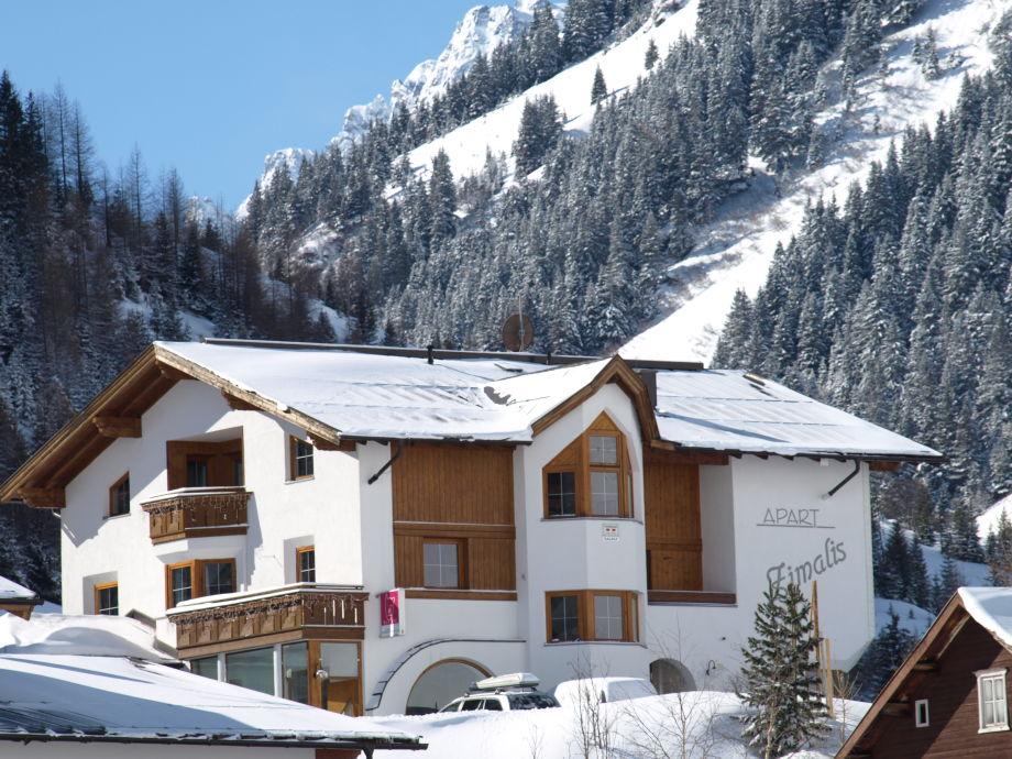 Apart Zimalis, Galtür, Tirol, Winterurlaub