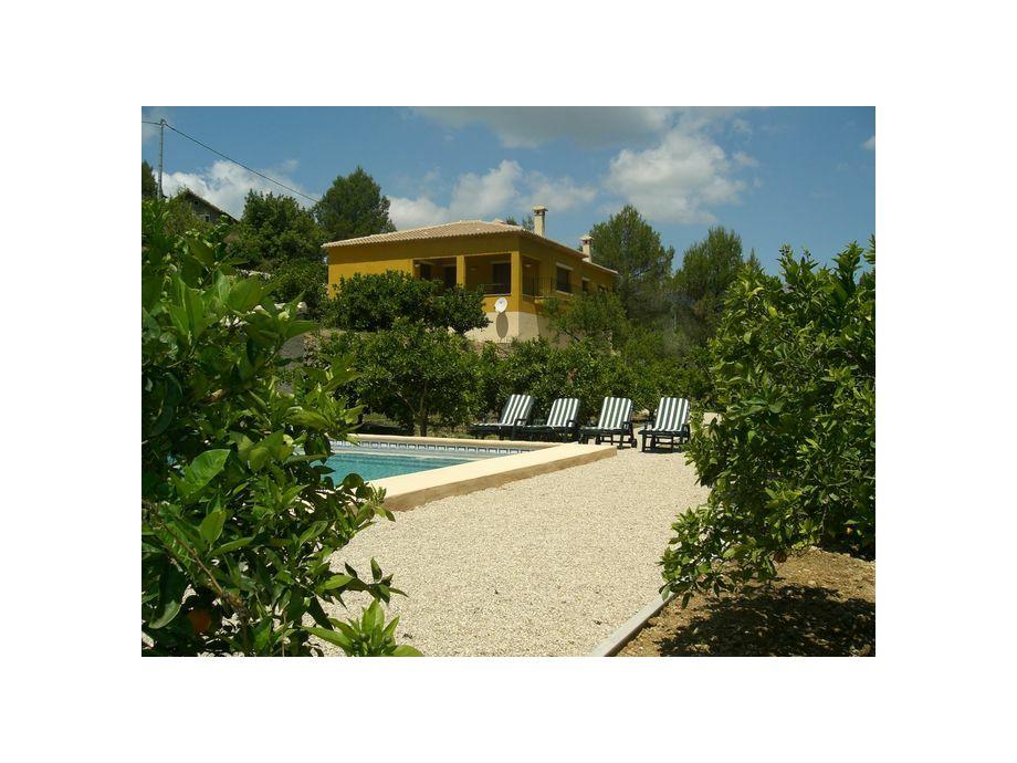 Außenaufnahme Villa Caballo Verde