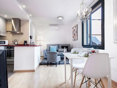 Rambla Paris Attic Apartment 3 pax