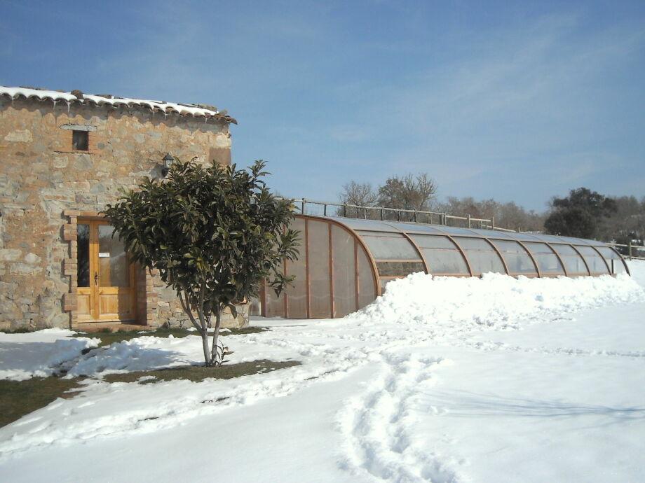 Außenaufnahme La Pallissa de Magadins