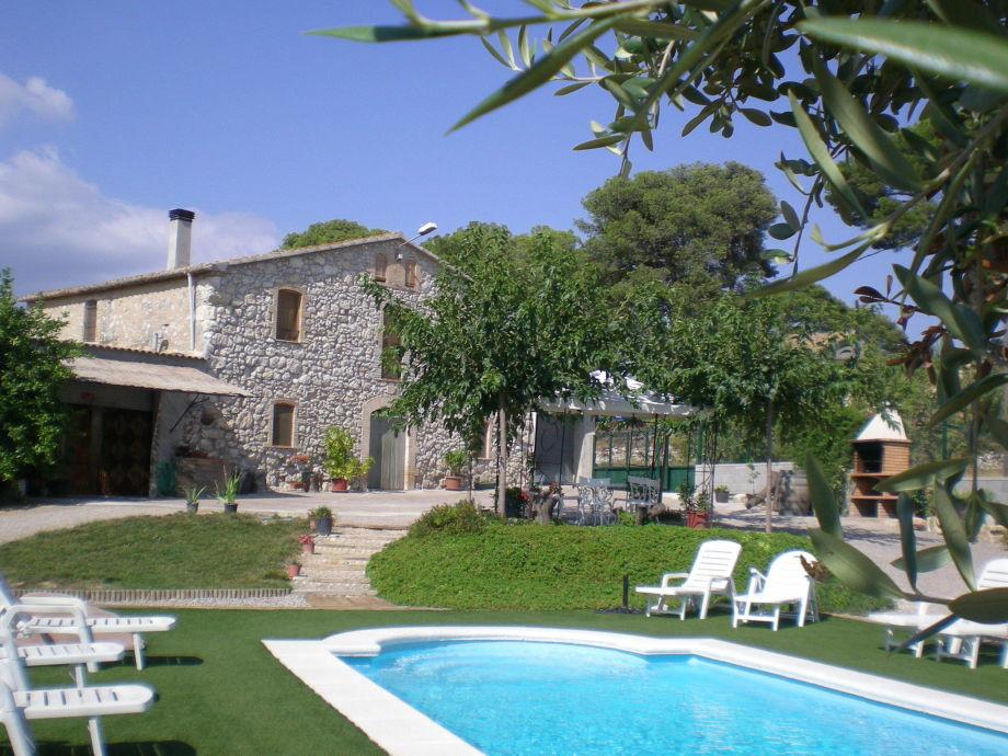 Außenaufnahme La Masia de Cal Badia