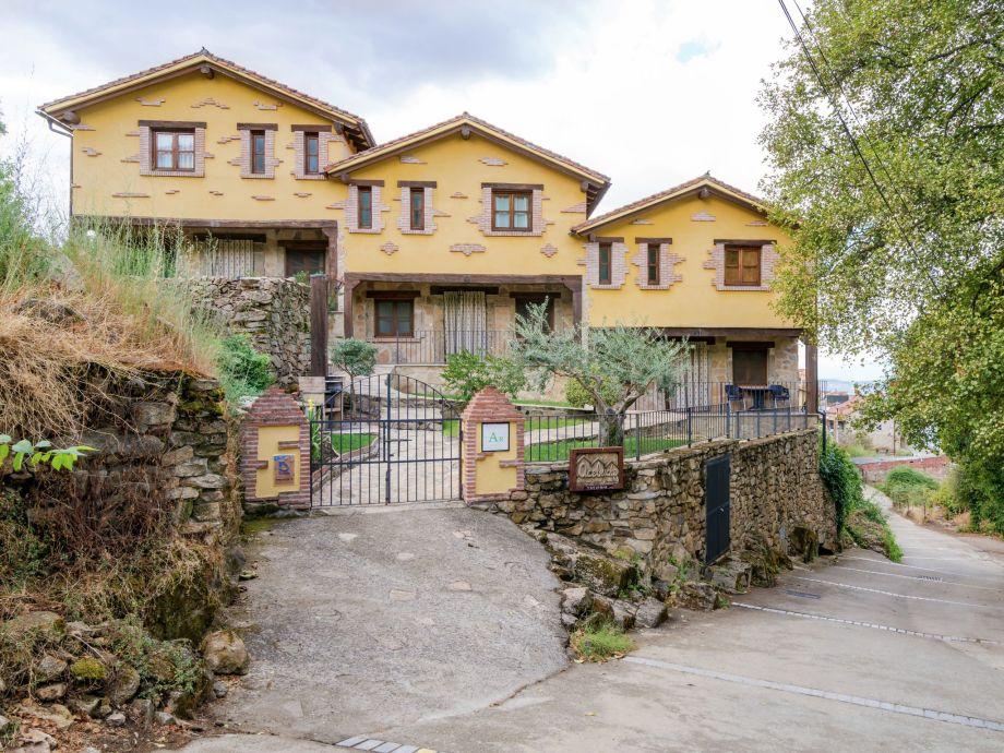 Außenaufnahme Casas Rurales Acebuche