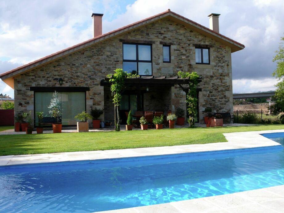 Außenaufnahme Casa Santiago de Compostela