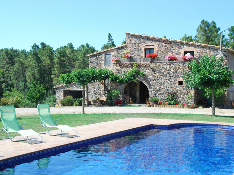 Außenaufnahme Casa Corçà