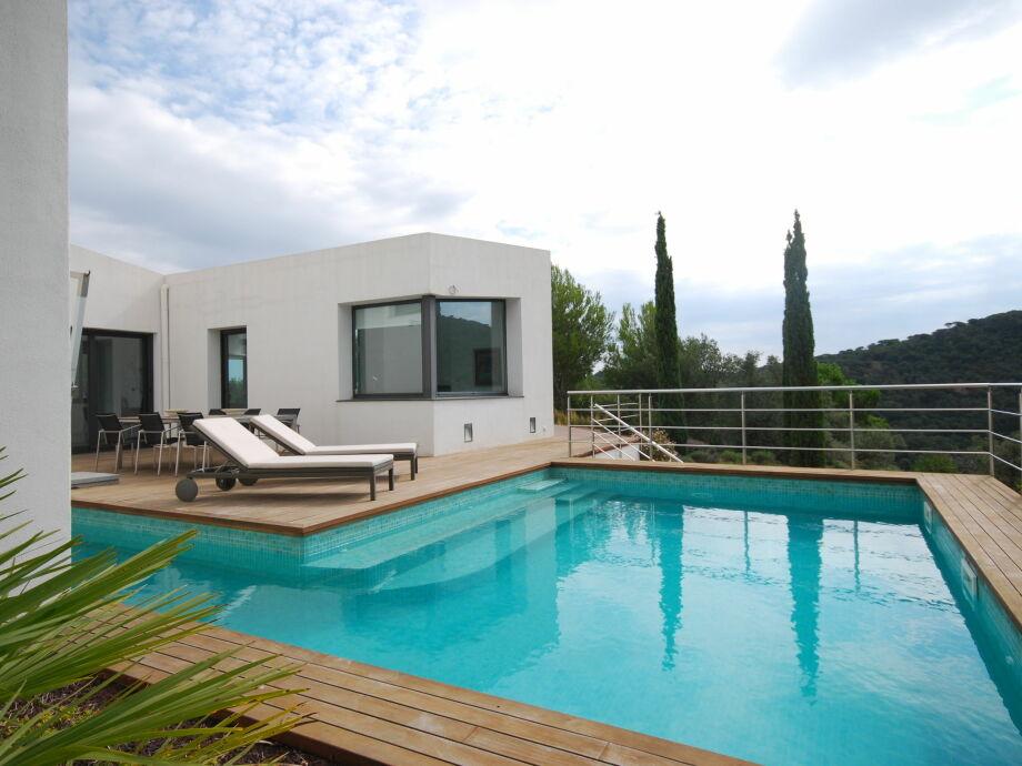 Außenaufnahme Villa Alba