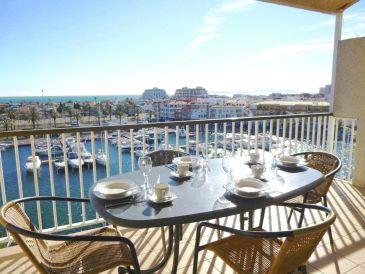 Ferienwohnung Port Grec vista dos