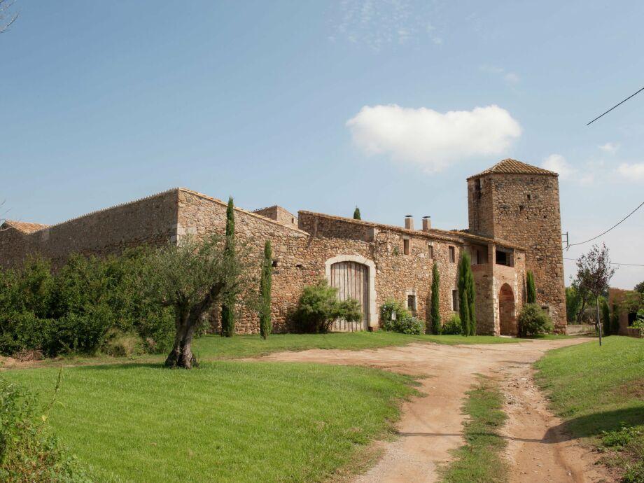 Außenaufnahme Castell Vallgornera