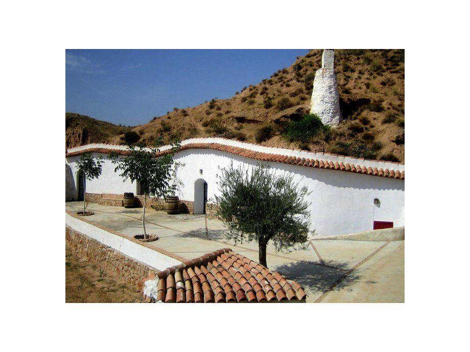 Außenaufnahme Casa Cueva Lopera