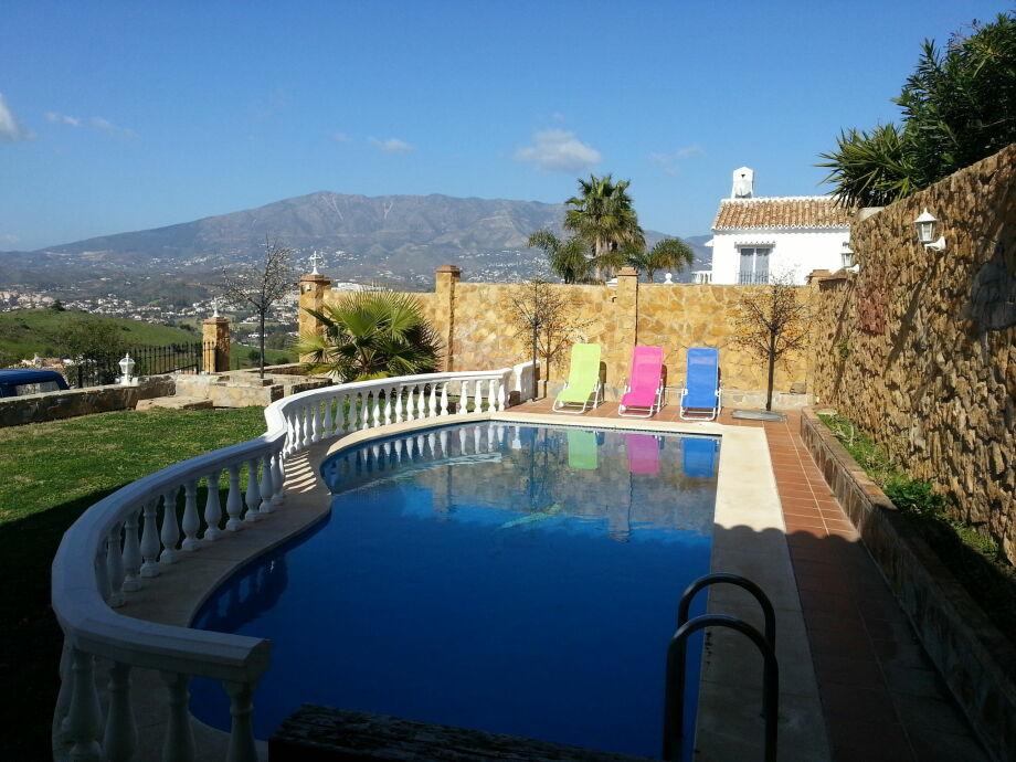 Außenaufnahme Villa del Cerros del Águila