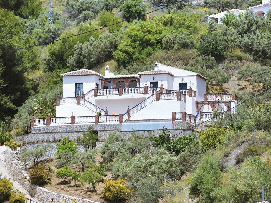Außenaufnahme Villa El Pedregal