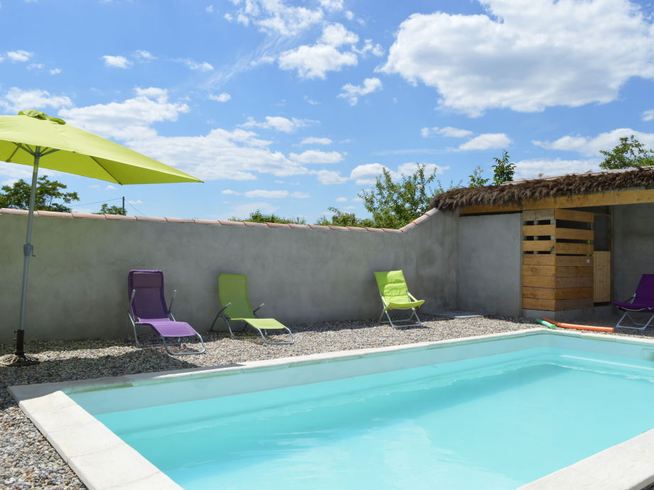 Außenaufnahme Maisond de vacances -Pradons